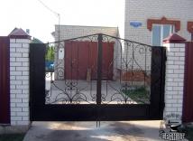 железные ворота в тамбове