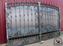 заказать металлические ворота